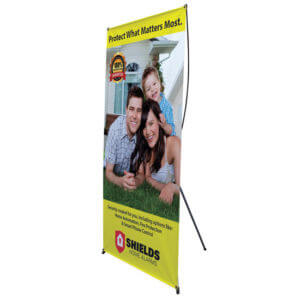 Banner Stand Printing Example #1 by Corporate Disk Company