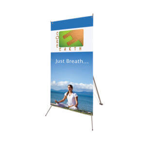 Banner Stand Printing Example #2 by Corporate Disk Company