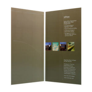 Brochure Mailer Printing Example #1 by Corporate Disk Company