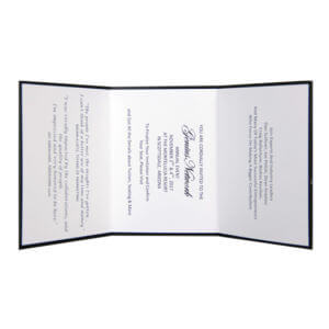 Direct Invitation Printing Example #1 by Corporate Disk Company