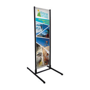 Floor Banner Printing Example #1 by Corporate Disk Company