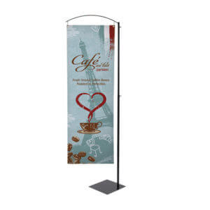 Floor Banner Printing Example #5 by Corporate Disk Company