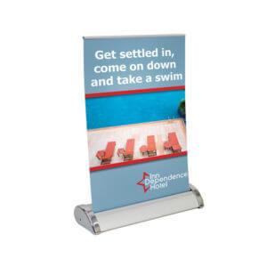 Pop-Up Banner Printing Example #4 by Corporate Disk Company