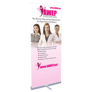 Retractable Banner Printing Example #2 by Corporate Disk Company
