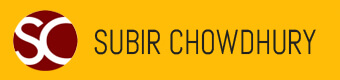 Subir Chowdury Logo by Corporate Disk Company
