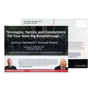 Variable Data Direct Mail Printing Example #1 by Corporate Disk Company