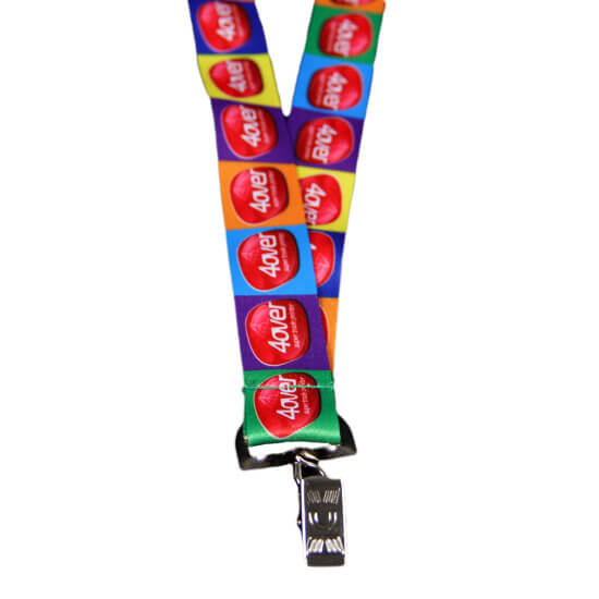 Custom Lanyard Example #5 by Corporate Disk Company