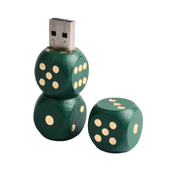 Custom Wooden USB Example #U810 by Corporate Disk Company