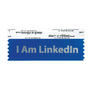 Name-Tag Stack-A-Ribbon Example #3 by Corporate Disk Company