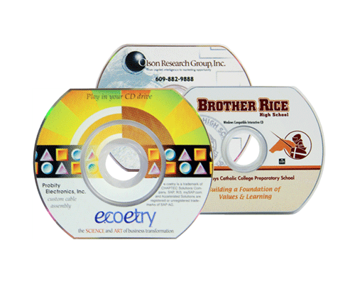 Business Card CD Duplication Services by Corporate Disk Company