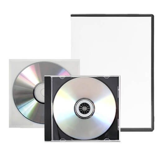 Standard DVD Packaging by Corporate Disk Company