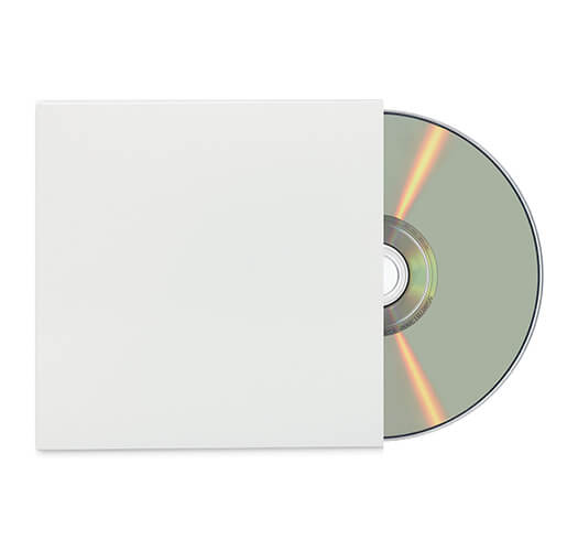 Standard CD Jacket Packaging by Corporate Disk Company