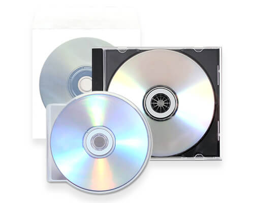 Standard CD Packaging Services by Corporate Disk Company