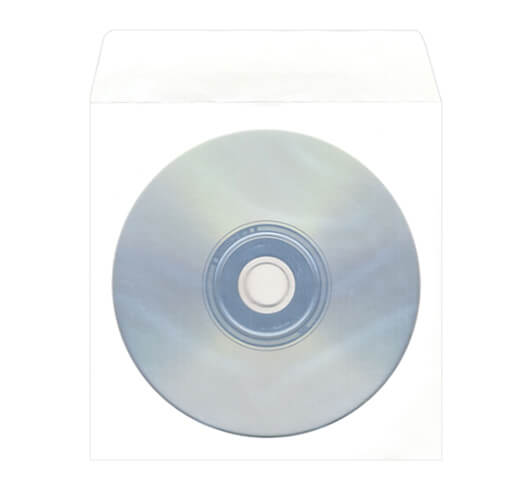 Standard CD Paper Sleeve Packaging by Corporate Disk Company