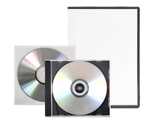 Standard DVD Packaging Services by Corporate Disk Company
