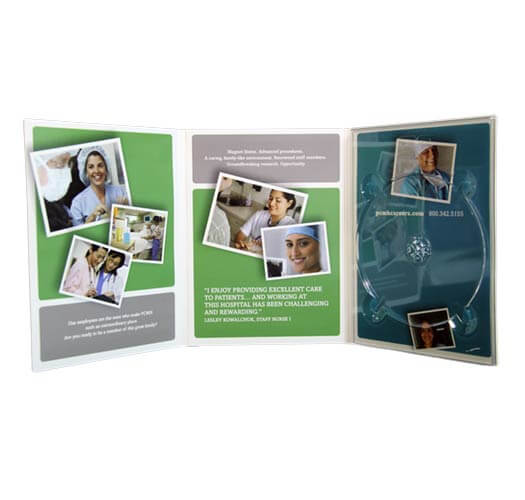 Custom DVD Album Example #2 by Corporate Disk Company